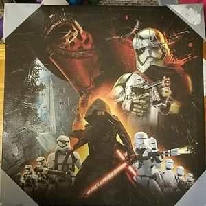 Other - 3 for $10 Star Wars canvas